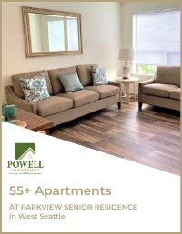 Parkview 55+ Apartments located in Daystar Retirement Village in West Seattle Cover Photo